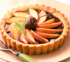 Cherry and Apple Tartlet