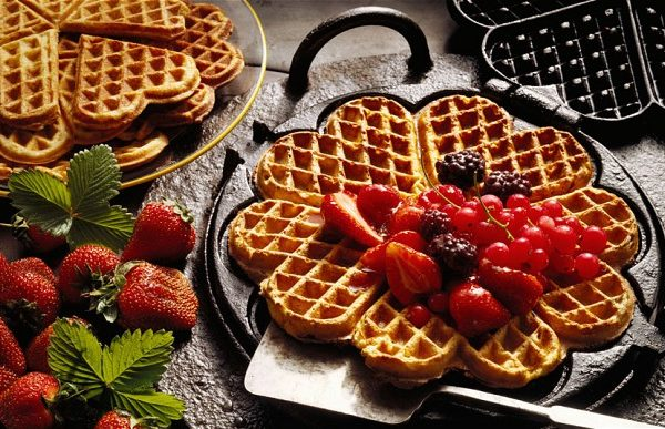 Buttermilk-waffle